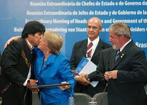 Português: Brasília - Presidentes da Bolívia, ...