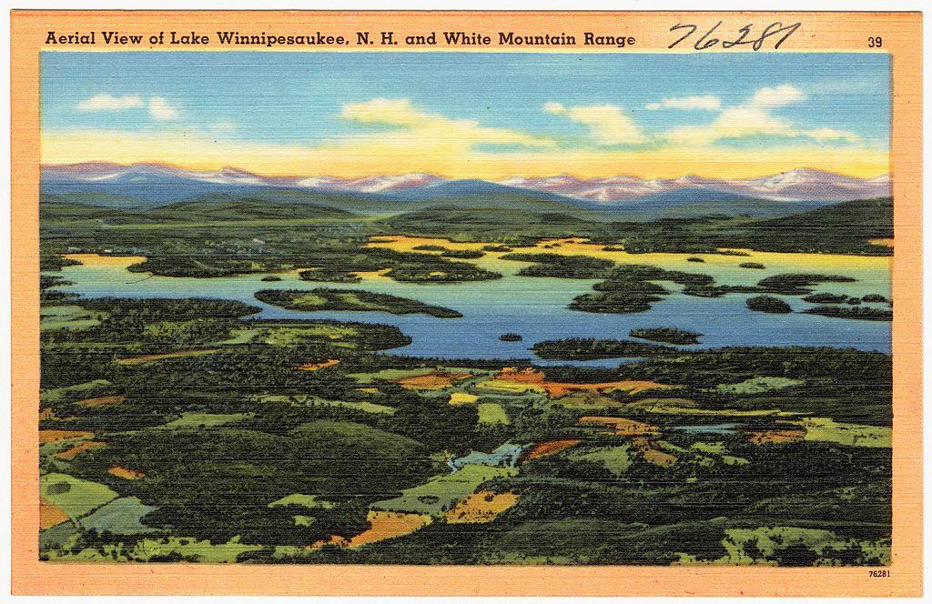 Ariel View Lake Winnipesaukee