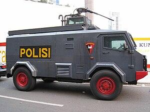 BRIMOB vehicle