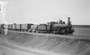 Baghdad Railway train, circa 1910