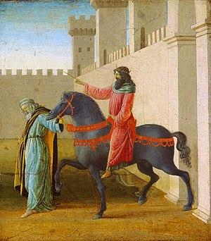 English: Sandro Botticelli The Triumph of Mord...