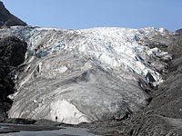 氷河を終了します。
