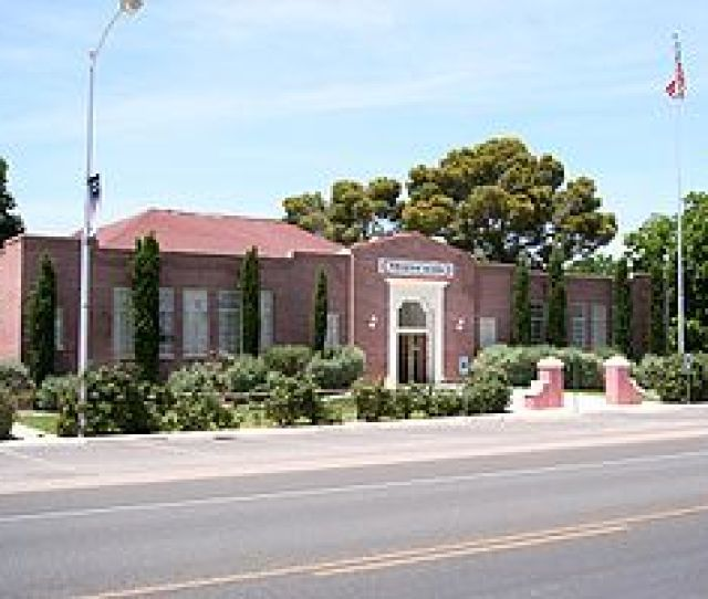 The Old Logandale School Logandale Nv