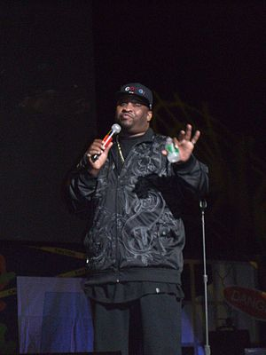 Patrice Oneal at the O&A Traveling Virus, 2007.