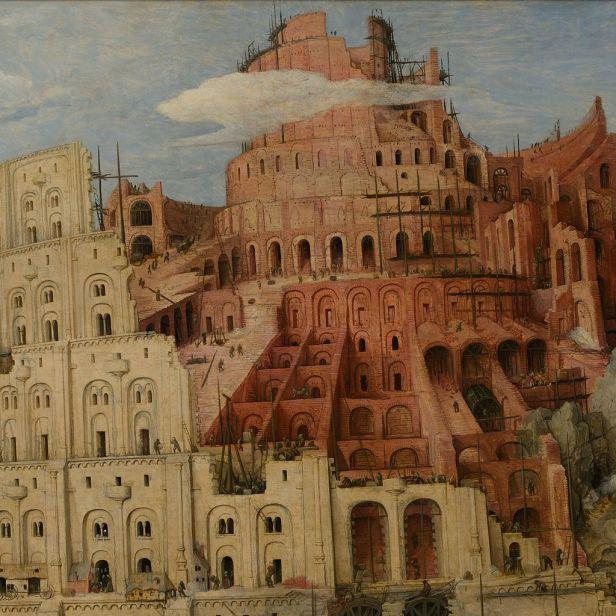 """""""The Tower of Babel"""" by Pieter Bruegel the Elder"""