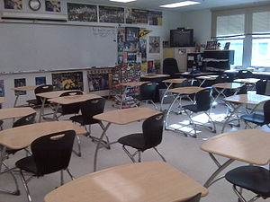 English: Social Studies classroom at Port Char...