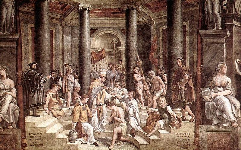 File:Raphael Baptism Constantine.jpg