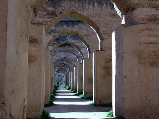 Royal stables, Meknes