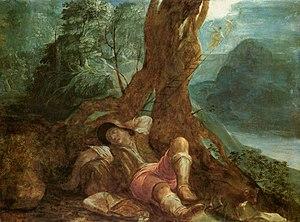 Adam Elsheimer - Jacob's Dream - WGA7493