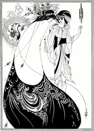 """""""The Peacock Skirt"""", illustration by..."""