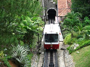 English: Penang Hill funicular.
