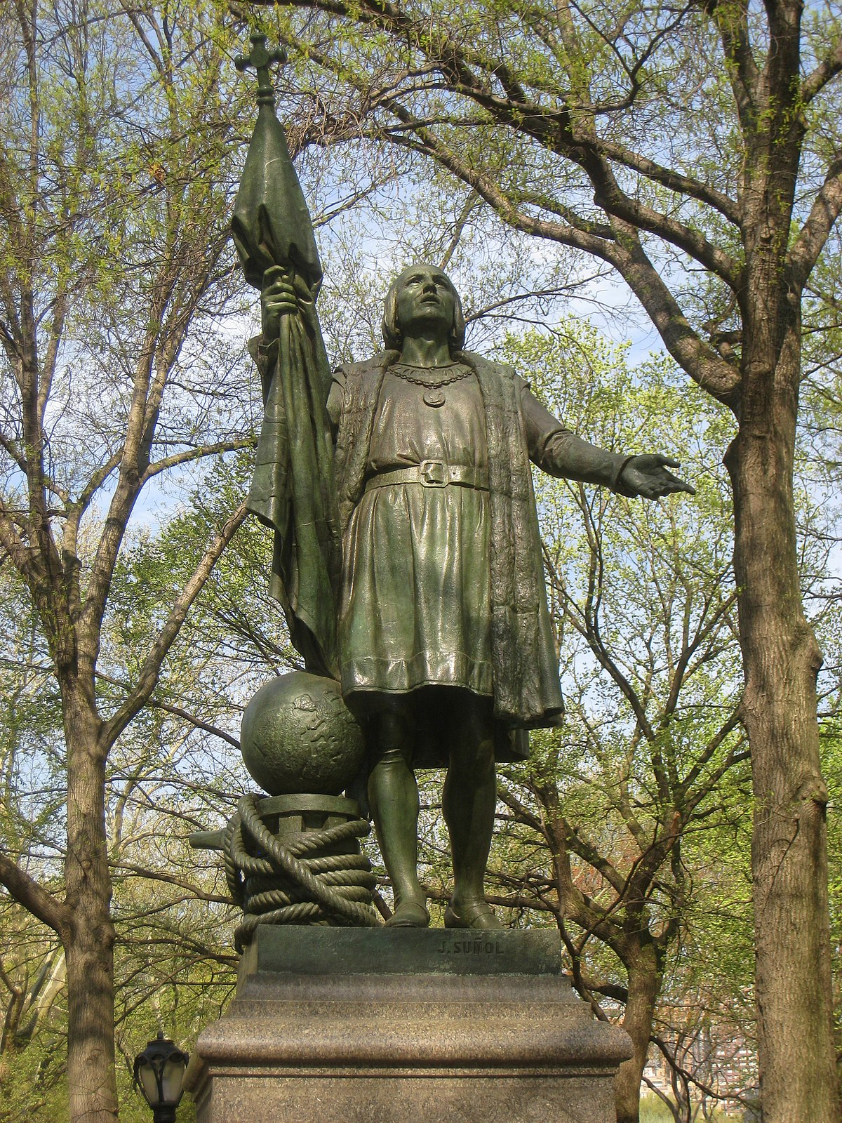 Statue Of Christopher Columbus Central Park