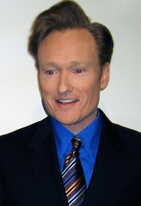 "American comedian Conan O'Brien at ""Stand..."