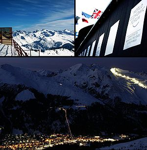 Montage for the Davos article on Wikipedia.