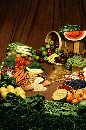 Food for vegans: fruits, vegetables, nuts, grains.... and HUMAN HAIR? ...