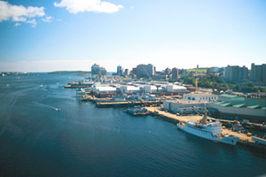Uitzicht over Halifax