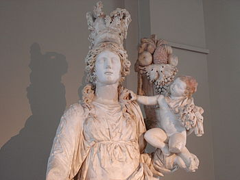 Istanbul Archaeological Museum - Goddess Tyche...