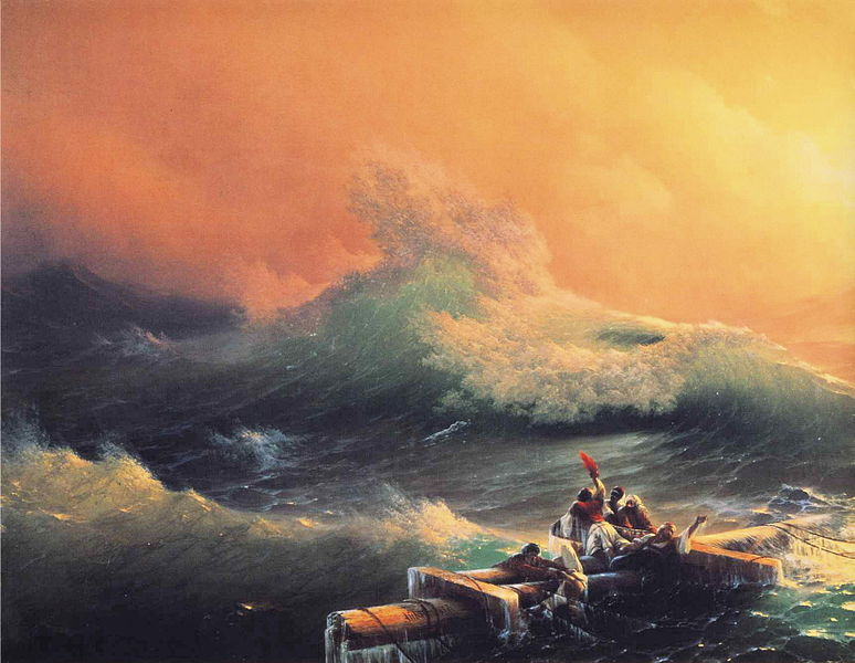 File:Ivan Constantinovich Aivazovsky - The Ninth Wave (detail).JPG