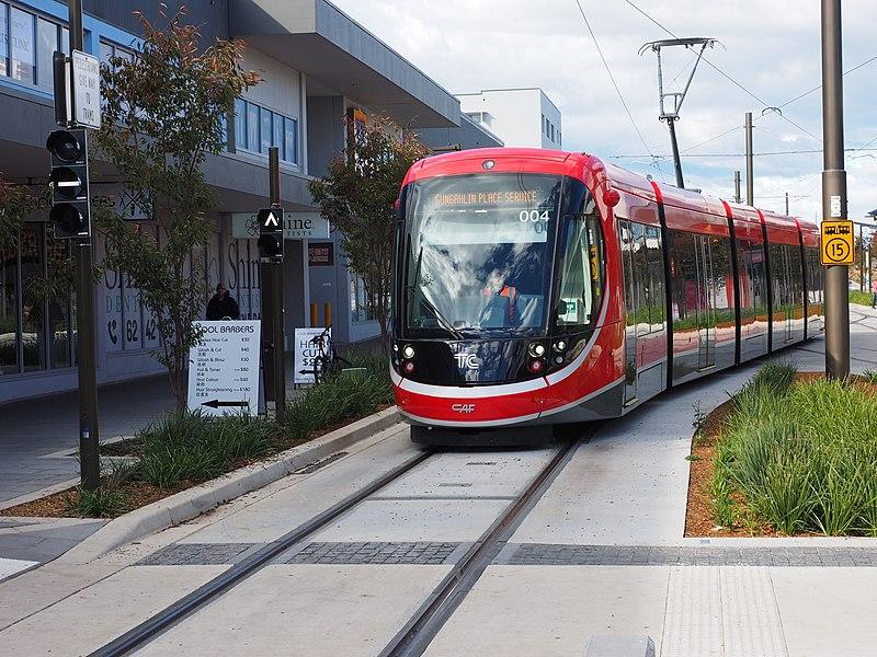 Canberra's new Light Rail