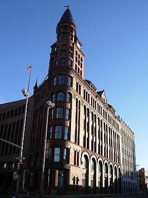 The Review Building in Spokane, Washington