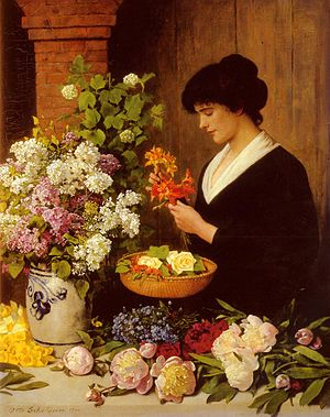 Scholderer Otto The Flower Arrangement