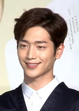 Seo Kang-joon in What Happens to My Family Press conference