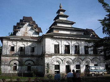 Shwe Zedi Kyaung, U Ottama's monastery in the ...