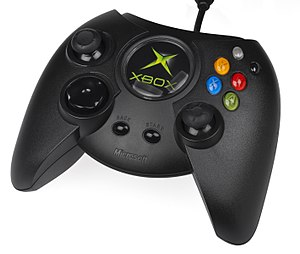 English: The original controller for the Ameri...