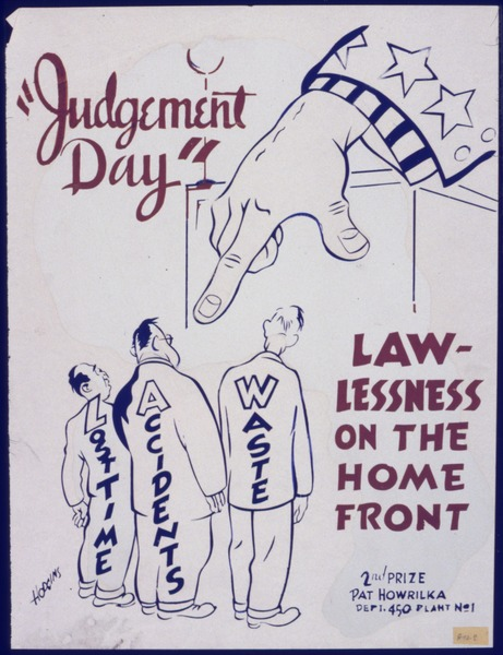 "File:""Judgement Day"". Lawlessness on the home front - NARA - 535064.tif"