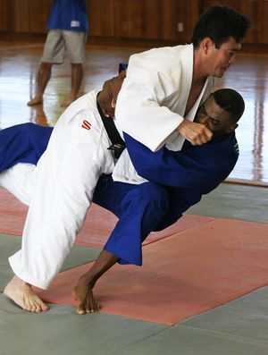 Hapkido holds many throwing techniques in comm...