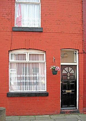 12 Arnold Grove, Liverpool. The house where Ge...