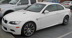 2009 BMW M3 convertible (US)