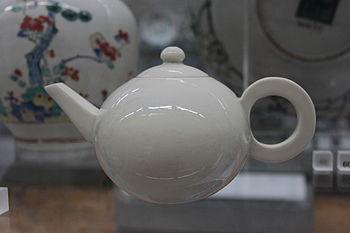 BLW White Teapot