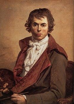 Autoportrait (1794) — Musée du Louvre, Paris, France.
