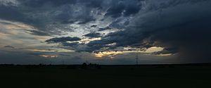 a Thunderstorm near Pritzerbe
