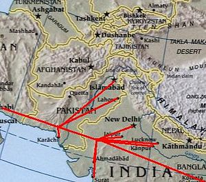 English: Modified :Image:Sino-Indian Geography...