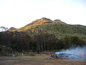 English: Mount Apo, Mindanao, Philippines as s...