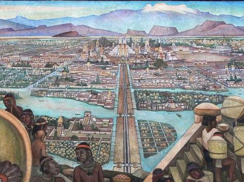 Localização de Tenochtitlan