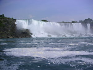 Niagara Falls Side View 2005