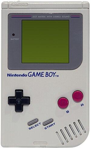 Original Nintendo Gameboy.