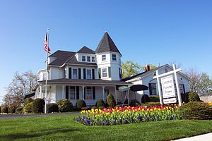 English: Photo of Overton Funeral Home, Inc - ...