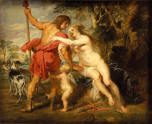 Peter Paul Rubens - Venus and Adonis