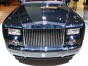 English: Rolls Royce Phantom at the IAA 2007 D...