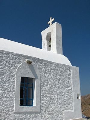 A country church on the Greek island Sifnos.