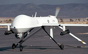 MQ-1L Predator UAV armed with AGM-114 Hellfire...