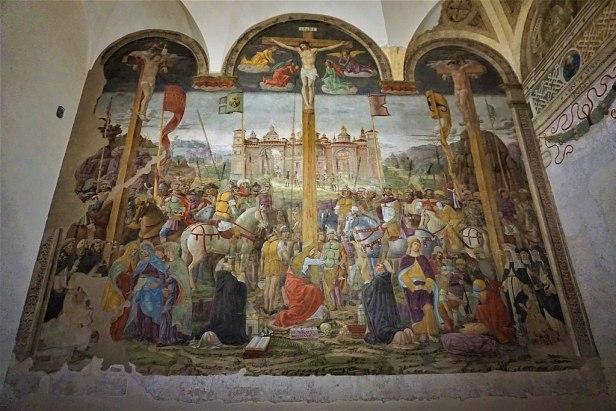 """""""Crucifixion"""" by Giovanni Donato da Montorfano"""
