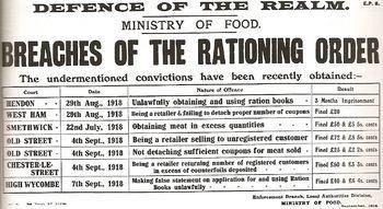 A British government leaflet describing variou...