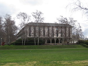 The Chifley Library at the Australian National...