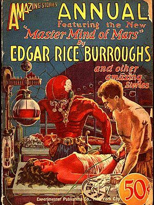 English: Cover of the pulp magazine Amazing St...