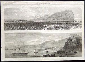 Terremoto en Arica, Perú, 1868 en  The Illustrated London News.